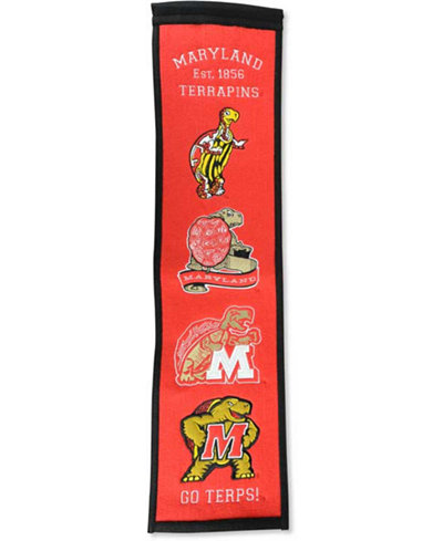 Winning Streak Maryland Terrapins Heritage Banner
