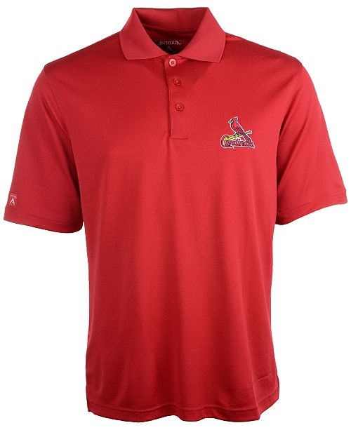 Antigua Men's St. Louis Cardinals Extra Lite Polo