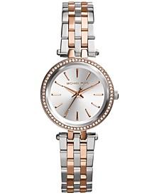 Women's Petite Darci Two-Tone Stainless Steel Bracelet Watch 26mm MK3298