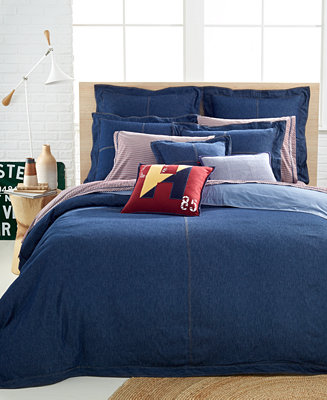 Tommy hilfiger denim collection bedding collections bed bath macy 39 s for Tommy hilfiger bedroom furniture
