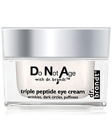 dr. brandt do not age triple peptide eye cream, 0.5 oz