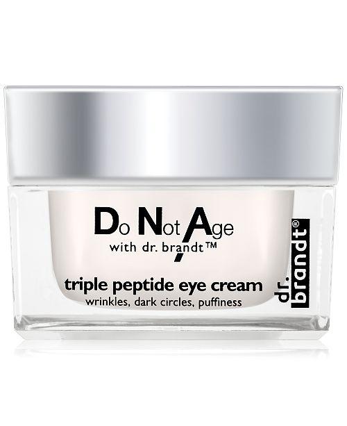 Dr. Brandt do not age triple peptide eye cream, 0.5 oz