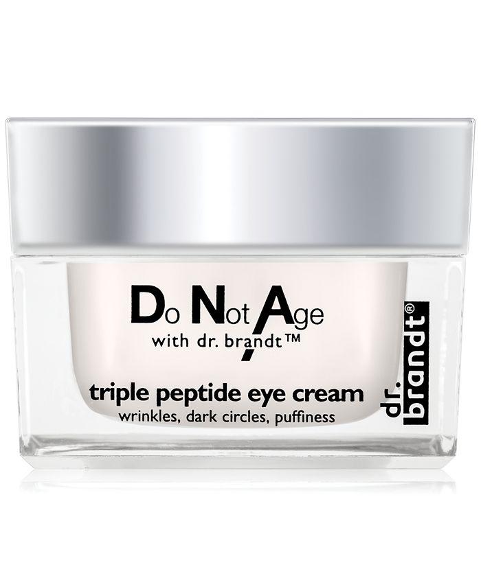 Dr. Brandt - X dr. brandt do not age triple peptide eye cream, 0.5 oz