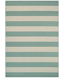 "Afuera Yacht Club 7'10"" x 10'9"" Indoor/Outdoor Area Rug"