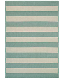 "Couristan Indoor/Outdoor Afuera Yacht Club 2'2"" x 7'10"" Area Rug"
