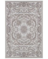 Couristan Indoor/Outdoor Area Rugs, Dolce 4079/7475 Messina Sky Blue-Grey