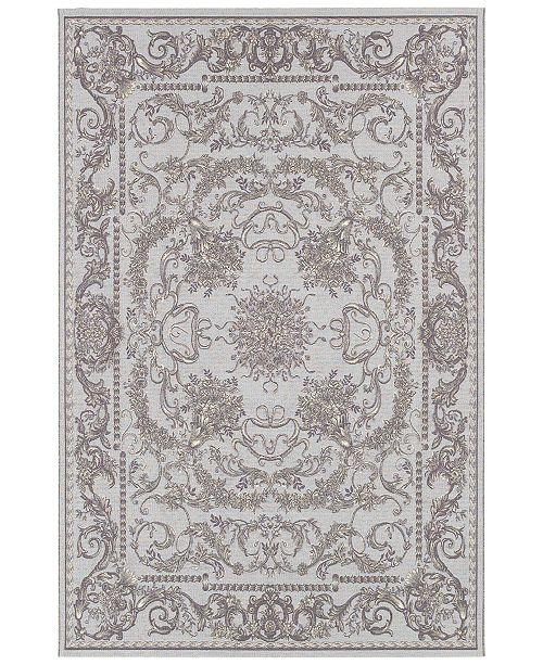 Couristan Indoor Outdoor Area Rug Dolce 4079 7475 Messina Sky Blue