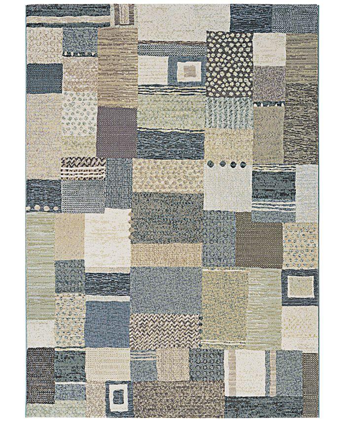 """Couristan - Area Rug, Taylor Maribel Cream-Grey 7'10"""" x 11'2"""""""