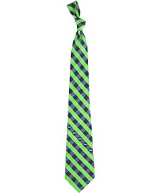 Eagles Wings Seattle Seahawks Checked Tie