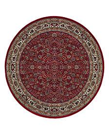 Oriental Weavers Area Rug, Ariana Red Sarouk 113R 8' Round