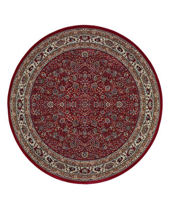 Oriental Weavers Area Rug, Ariana Red Sarouk 113R 6' Round