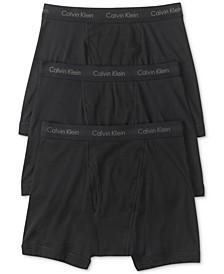 Men's Cotton Classic Boxer Briefs 3-Pack NU3019