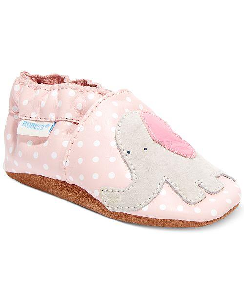 Robeez Little Peanut Shoes, Baby Girls