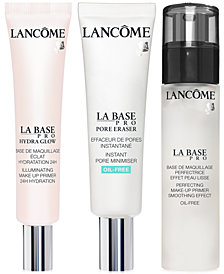 Lancôme LA BASE PRO Primer Collection