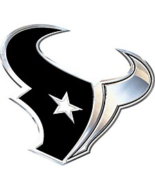 Houston Texans Metal Auto Emblem