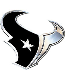 Stockdale Houston Texans Metal Auto Emblem