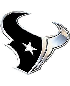 Stockdale Houston Texans Metal Auto Emblem