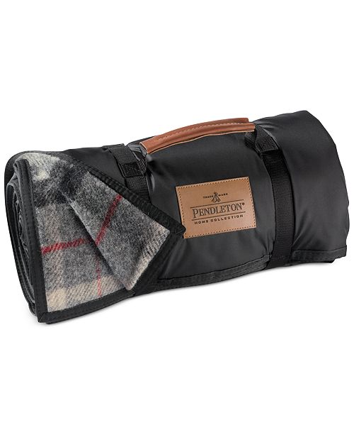 Blankets, Roll-Up Outdoor Nylon Reverse Wool Blanket