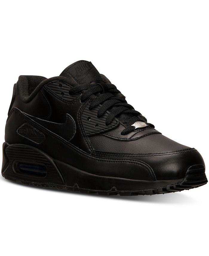 Nike Men's Air Max 90 Leather Casual Sneakers from Finish Line ...