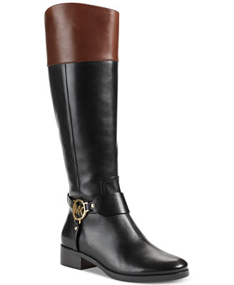 michael michael kors fulton harness boots boots shoes