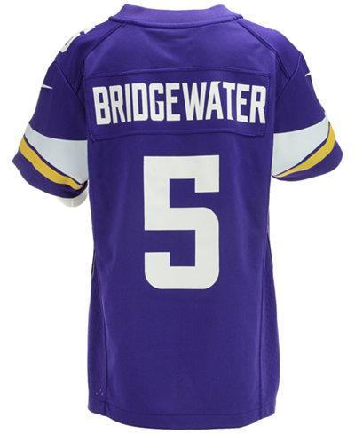 04db1e822f1 Nike Kids' Teddy Bridgewater Minnesota Vikings Game Jersey - NFL ...