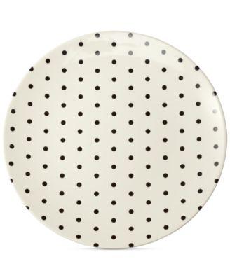 Dots Melamine Salad Plate
