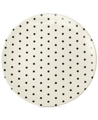 kate spade new york Dots Melamine Salad Plate  sc 1 st  Macyu0027s & kate spade new york Dots Melamine Salad Plate - Dinnerware - Dining ...