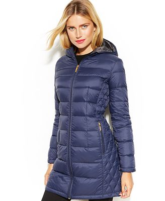 Michael Michael Kors Quilted Down Packable Puffer Coat