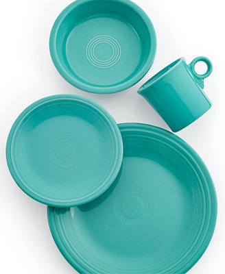 Turquoise 4 Piece Place Setting by Fiesta