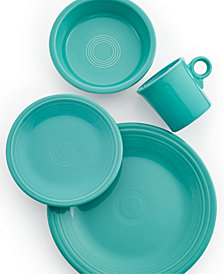 Fiesta Turquoise 4-Piece Place Setting