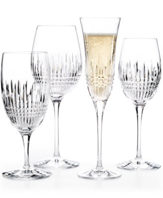 waterford lismore diamond essence stemware collection - Waterford Crystal Wine Glasses