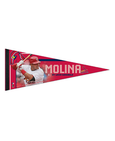 Wincraft Yadier Molina St. Louis Cardinals Premium Player Pennant