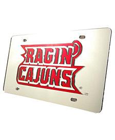 Stockdale Louisiana Lafayette Ragin' Cajuns Laser Tag License Plate