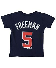 Majestic Toddlers' Freddie Freeman Atlanta Braves Player T-Shirt
