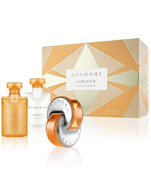 Bvlgari Omnia Indian Garnet Gift Set Reviews All Perfume