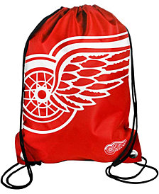 Forever Collectibles Detroit Red Wings Big Logo Drawstring Bag