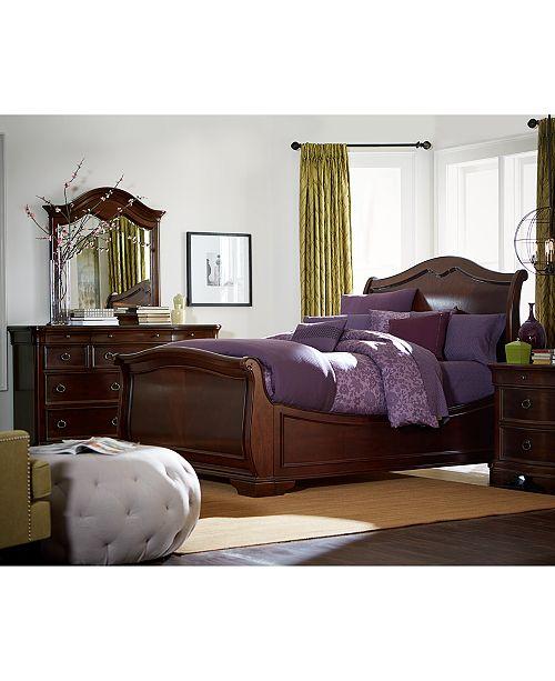 Bordeaux II 3-Pc. Bedroom Set (Queen Bed, Dresser, & Nightstand), Created  for Macy\'s