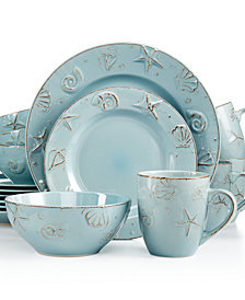 Thomson Pottery Cape Cod 16-Pc. Set, Service for 4