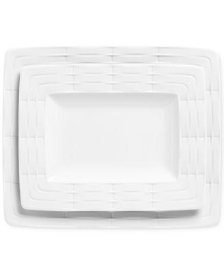 Entertain 365 Sculpture 2-Piece Platter Set