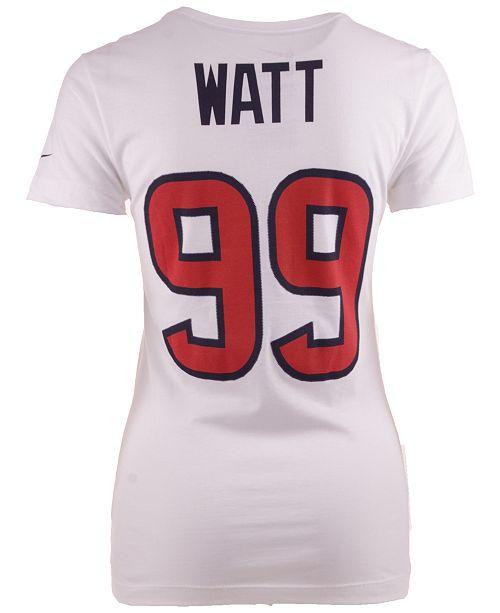 eb049d6b Nike Women's J.J. Watt Houston Texans Player Pride T-Shirt - Sports ...