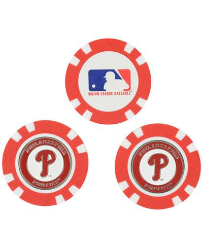 Team Golf Philadelphia Phillies 3-Pack Poker Chip Golf Markers