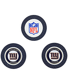 Team Golf New York Giants 3-Pack Poker Chip Golf Markers