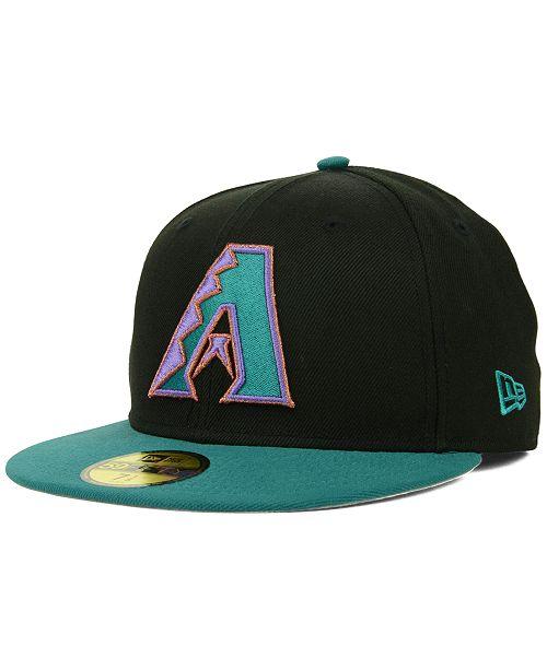New Era. Arizona Diamondbacks MLB Cooperstown 59FIFTY Cap. Be the first to  Write a Review. main image ... b0168bb5390