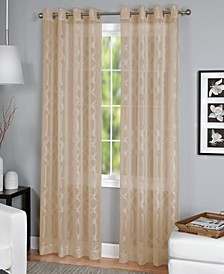 "CLOSEOUT! Latique Sheer 52"" x 84"" Panel"