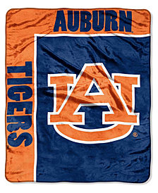 Northwest Company Auburn Tigers Plush Team Spirit Throw Blanket