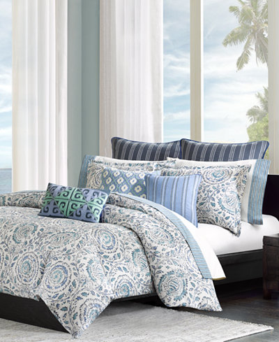 echo kamala king comforter set bedding collections bed bath macy 39 s. Black Bedroom Furniture Sets. Home Design Ideas