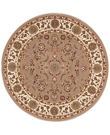 "kathy ireland Home Ephesus Anatolia 5'3"" Round Rug, Created for Macy's"