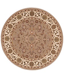 "kathy ireland Home Ephesus Anatolia 7'10"" Round Rug, Created for Macy's"