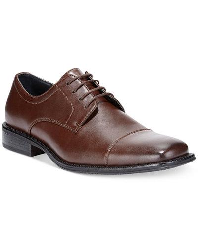 Alfani Men's Adam Cap Toe Oxford, Created for Macy's