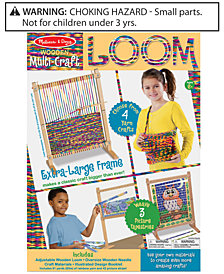 Melissa and Doug Kids' Multi-Craft Weaving Loom